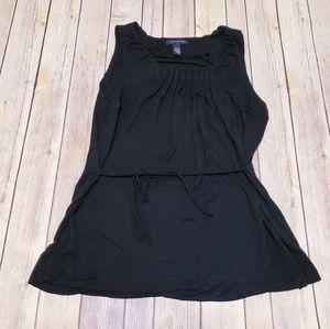 🛍 Banana republic stretch black blouse